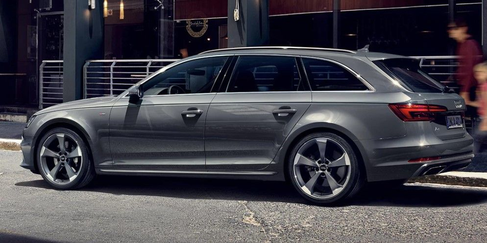 Renting Audi A4 Avant g-tron