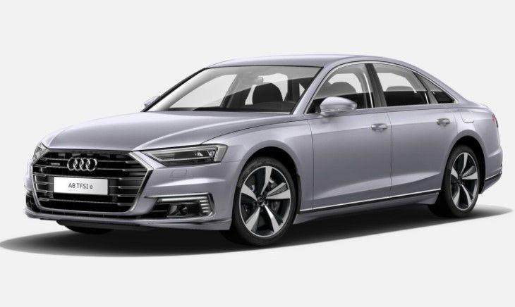 Renting Audi A8 TFSIe