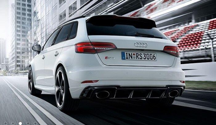 Renting Audi RS 3 Sportback