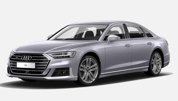Renting Audi S8 TFSI