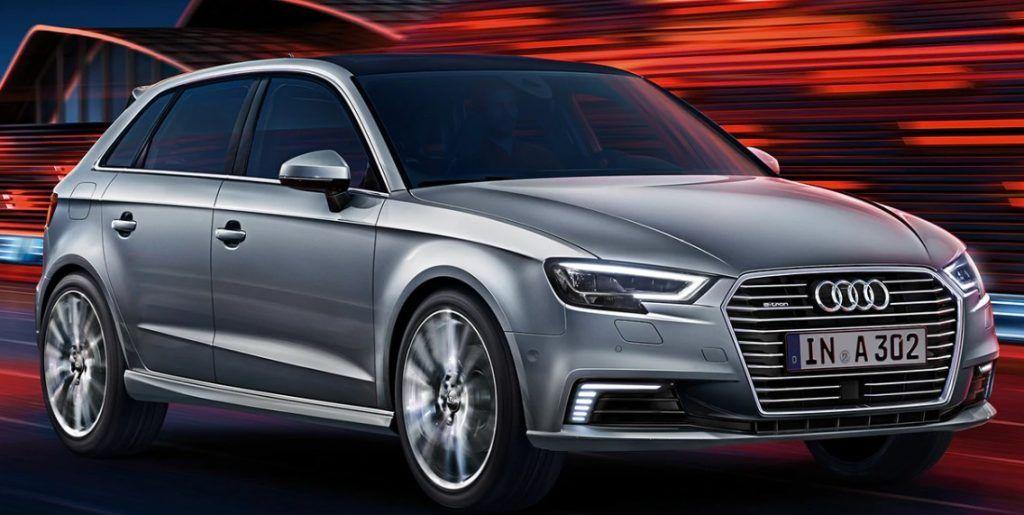 Renting Audi A3 Sportback 40 e-tron