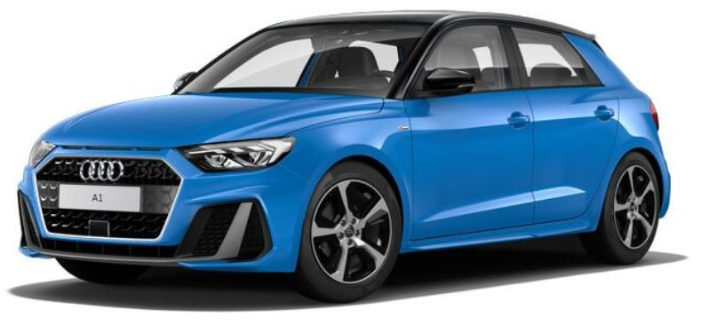 Renting Audi A1 Sportback Adrenalin Edition