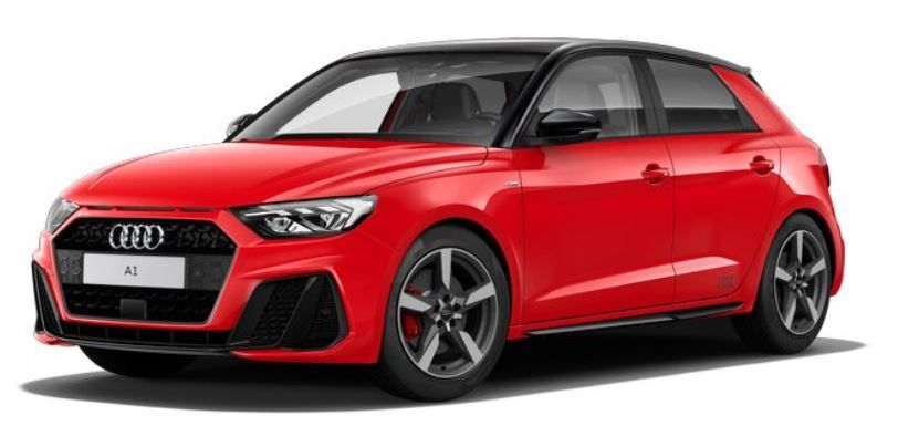 Renting Audi A1 Sportback Black Line Edition