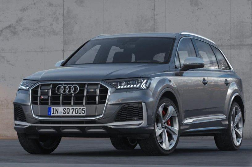 Renting Audi SQ7 TDI