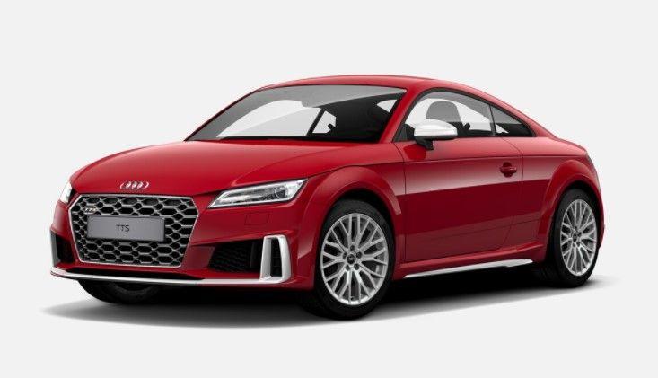 Renting Audi TTS Coupé TFSI