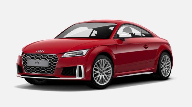 Renting Audi TTS Roadster TFSI