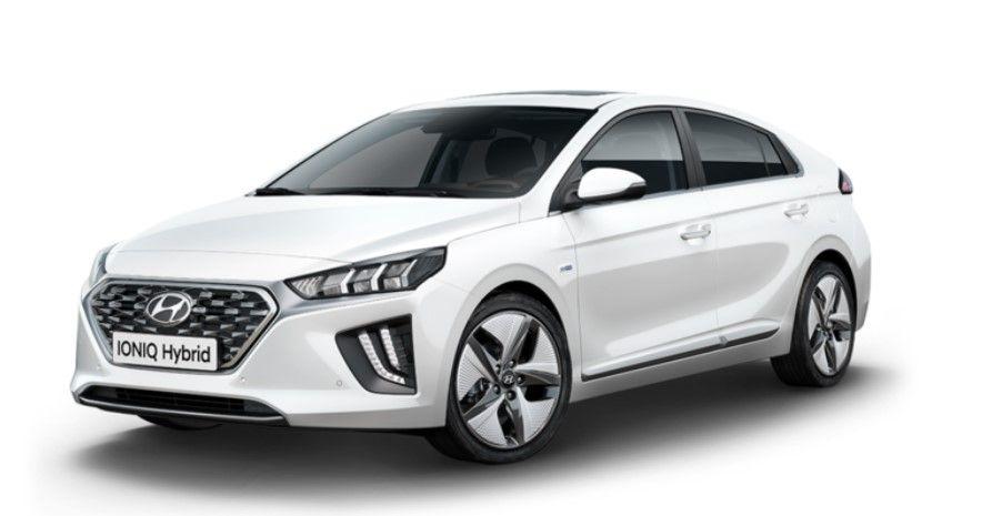 Renting Hyundai Ioniq híbrido