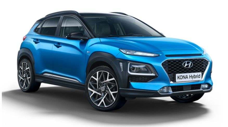 Renting Hyundai Kona híbrido eléctrico