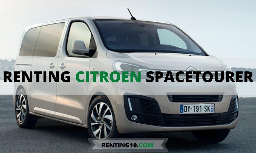 Citroen Spacetourer renting