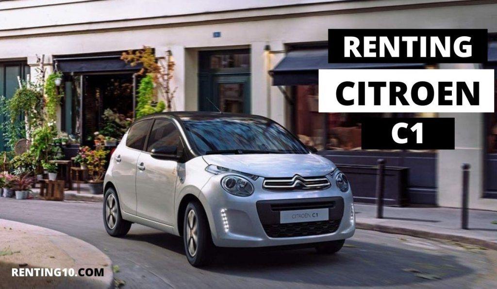 Renting Citroen C1