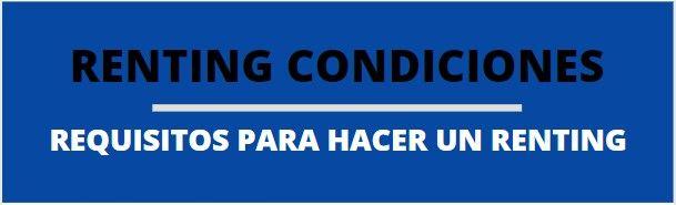 requisitos para renting condiciones