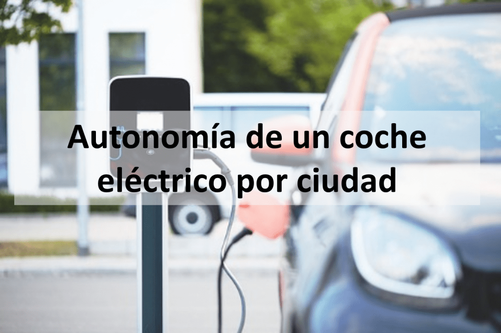 Autonomía de un coche eléctrico