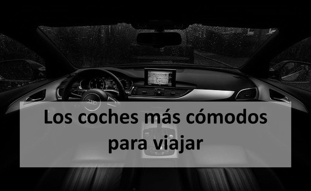 Los coches más cómodos para viajar