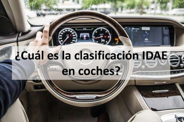 cual es la clasificación IDAE en coches