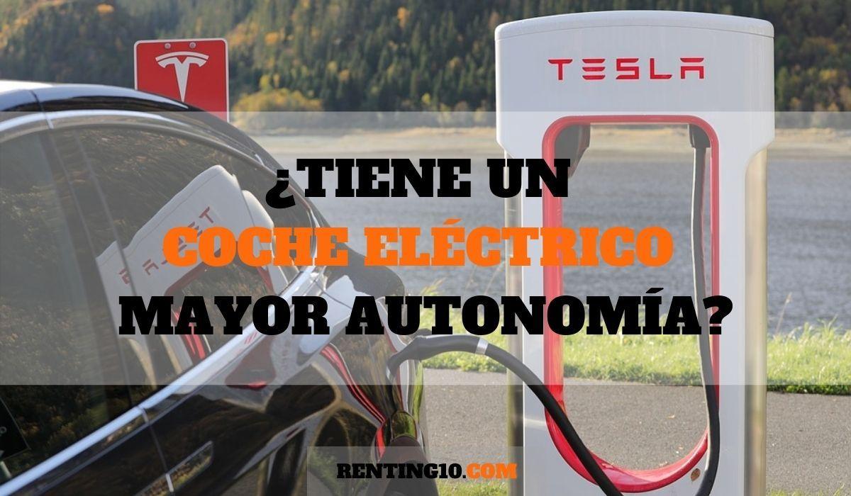 ¿Tiene un coche eléctrico mayor autonomía?