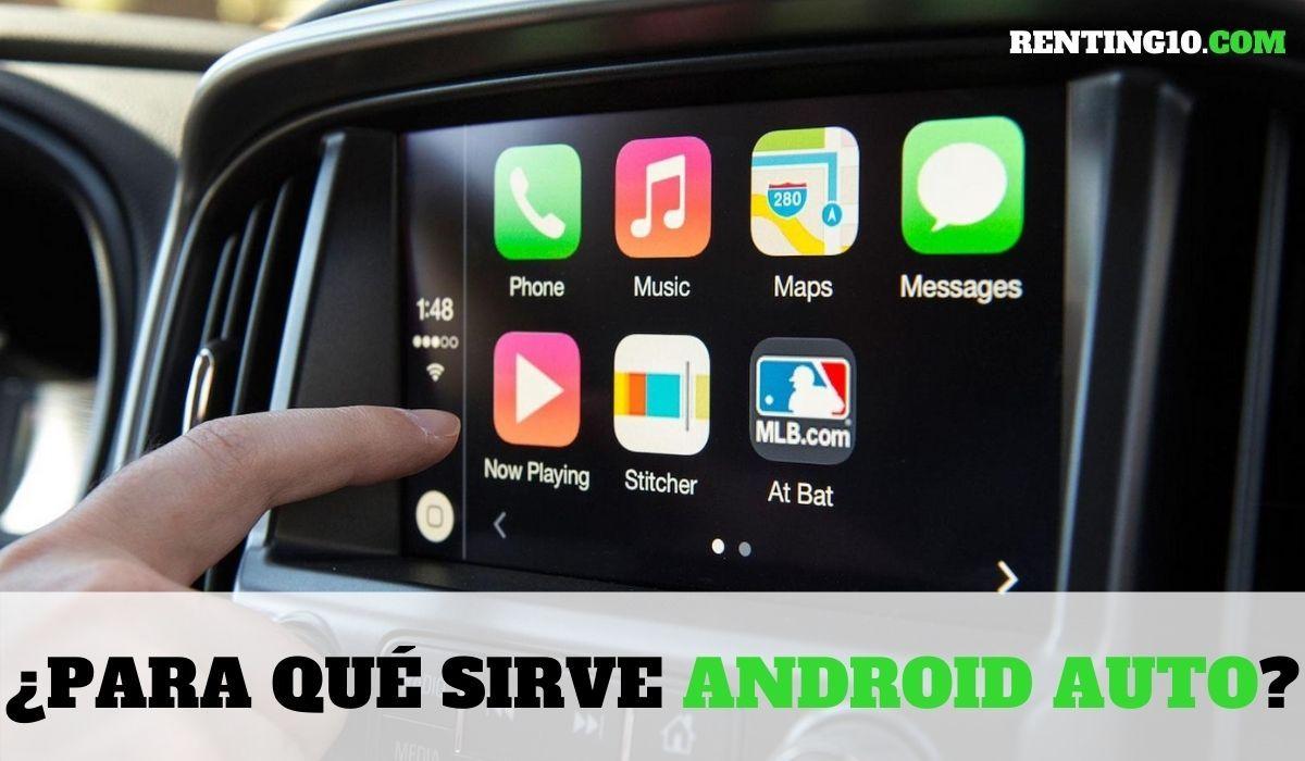 ¿Para qué sirve Android Auto?