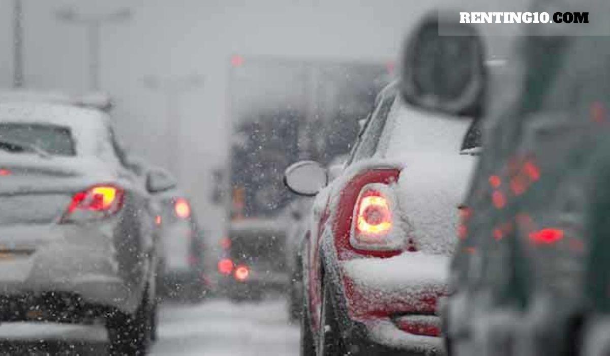 ¿Qué pasa si no tomas precauciones al conducir sobre la nieve?