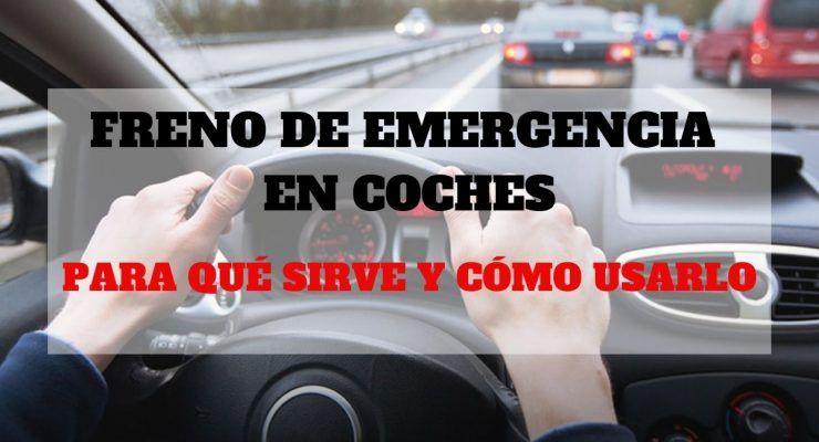 Freno de emergencia en coches, para qué sirve y cómo usarlo