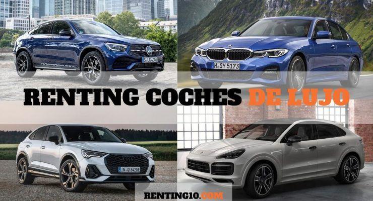 Mejores ofertas de renting coches de lujo