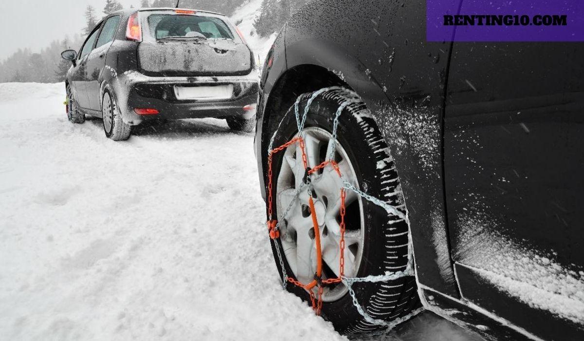 ¿Por qué debes usar cadenas para coches en el invierno?