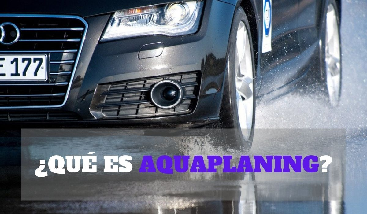 ¿Qué es aquaplaning?