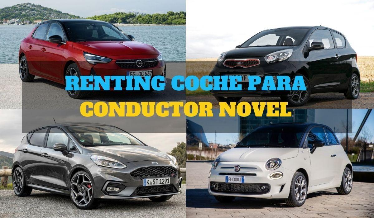 Conductor novel, así podrás conseguir tu primer coche de renting