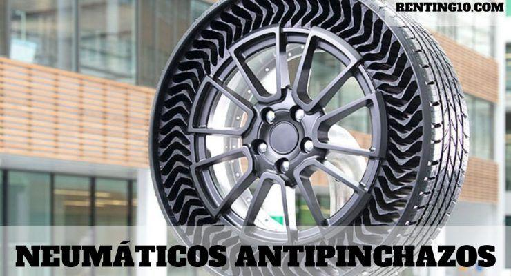¿Qué son y para qué sirven los neumáticos antipinchazos?