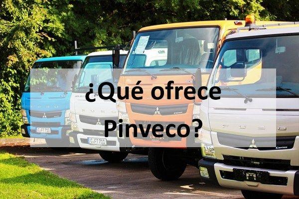 ¿Qué ofrece Pinveco?