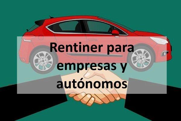 Rentiner para empresas y autónomos